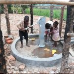 The Water Project: Kimigi Kyamatama Community -  Kids Fetching Water