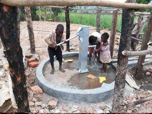 The Water Project:  Kids Fetching Water