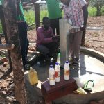 The Water Project: Kimigi Kyamatama Community -  Shock Chlorinating The Well