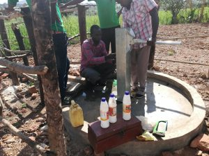 The Water Project:  Shock Chlorinating The Well