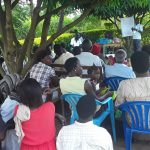 The Water Project: Kimigi Kyamatama Community -  Training