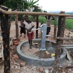 The Water Project: Kimigi Kyamatama Community -  Well