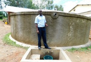 The Water Project:  Deputy Principal Mr Andrew Ruto