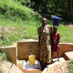 The Water Project: Jivovoli Community, Gideon Asonga Spring -  Mrs Gladice Wangwa
