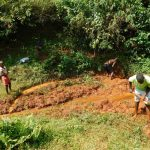 The Water Project: Mutao Community, Kenya Spring -  Finding The Springs Eye