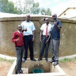The Water Project: Bishop Makarios Secondary School -  Flowing Water