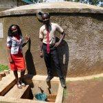 The Water Project: Erusui Secondary School -  Teacher Mrs Gloria Tsindoria And Student Calvar Alionya