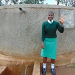 The Water Project: Injira Secondary School -  Cynthia Luyai