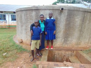 The Water Project:  Field Officer Rose Serete With Students