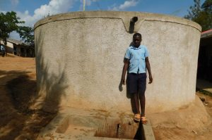 The Water Project:  Student Dickson Andafu