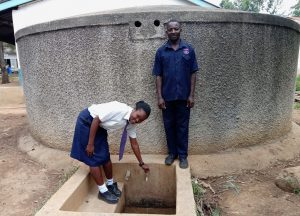 The Water Project:  Student Alice Andeyo And Chief Chef Patrick Otakwa