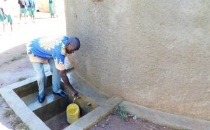 The Water Project:  Head Teacher Mr Ronald Mashishia