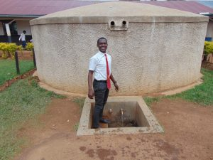 The Water Project:  Student Stands Proud