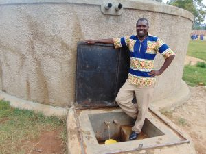 The Water Project:  Mr Eric Nambisia