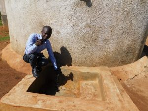 The Water Project:  Sanitation Teacher Mr Kelvin Namasaka