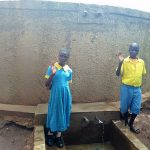 The Water Project: Eshilibo Primary School -  Centrine Naliaka And Chrisantus Injusi