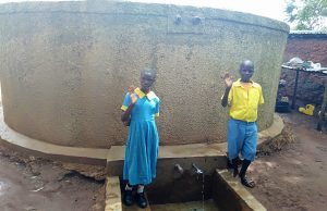 The Water Project:  Centrine Naliaka And Chrisantus Injusi