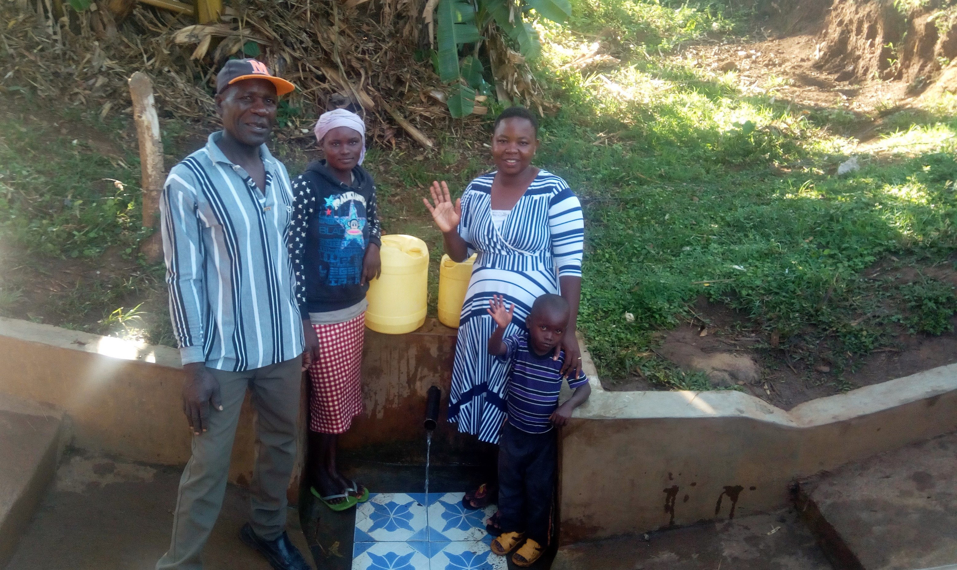 The Water Project : 1-kenya18092-nathan-jane-and-betty-2