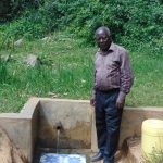 The Water Project: Lwenya Community, Warosi Spring -  Mr Josh Luvembe