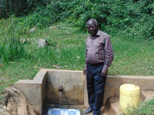 The Water Project:  Mr Josh Luvembe