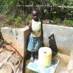 The Water Project: Elukani Community, Ongari Spring -  Dorine Amwayi