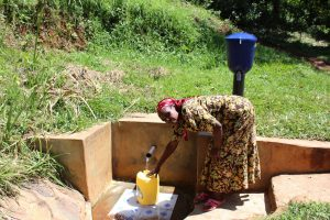 The Water Project:  Gladice Fetches Water
