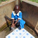 The Water Project: Mwituwa Community, Shikunyi Spring -  Christine Mugala