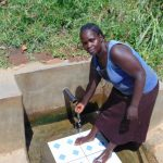 The Water Project: Mwituwa Community, Nanjira Spring -  Grace Oleyi