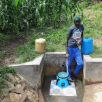 The Water Project: Masera Community, Salim Hassan Spring -  Agatious Likami