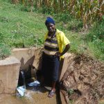 The Water Project: Burachu B Community, Shitende Spring -  Everlyn Okumu