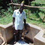 The Water Project: Nambatsa Community, Odera Spring -  Jairus Odera