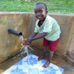 The Water Project: Mbande Community, Handa Spring -  Fabian Mkea