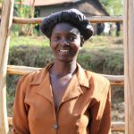 The Water Project: Elukho Community A -  Mrs Christine Nyapola Well Caretaker