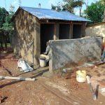 The Water Project: Ikumba Secondary School -  Latrine Block