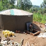 The Water Project: Kapchorwa Primary School -  Access Area Takes Shape