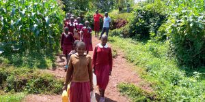 The Water Project:  Teachers Accompany Students To Spring