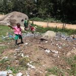 The Water Project: Mwichina Primary School -  Garbage Pit
