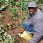 The Water Project: Kimaran Community, Kipsiro Spring -  Filling Up At Kipsiro Spring