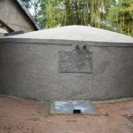 The Water Project: Makunga Primary School -  Completed Rain Tank