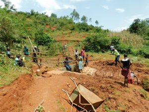The Water Project:  Site Clearance After Construction