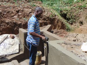 The Water Project:  Cementing And Plastering