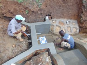 The Water Project:  Helping Lay The Tiles