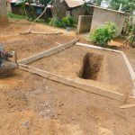 The Water Project: Makunga Primary School -  Sinking The Latrine Pits