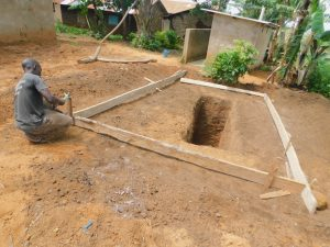 The Water Project:  Sinking The Latrine Pits