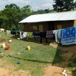 The Water Project: Emurumba Community, Makokha Spring -  Clothesline