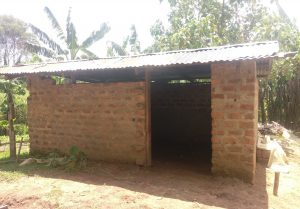The Water Project:  Cow Shed