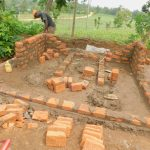 The Water Project: Makunga Primary School -  Latrine Construction