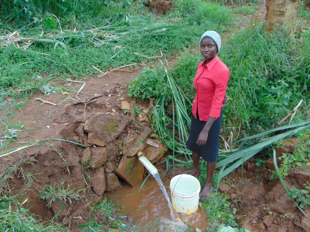 The Water Project : 13-kenya19115-filled-bucket