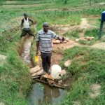 The Water Project: Shihingo Community, Inzuka Spring -  Alphonce Musirwa At The Spring