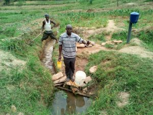 The Water Project:  Alphonce Musirwa At The Spring